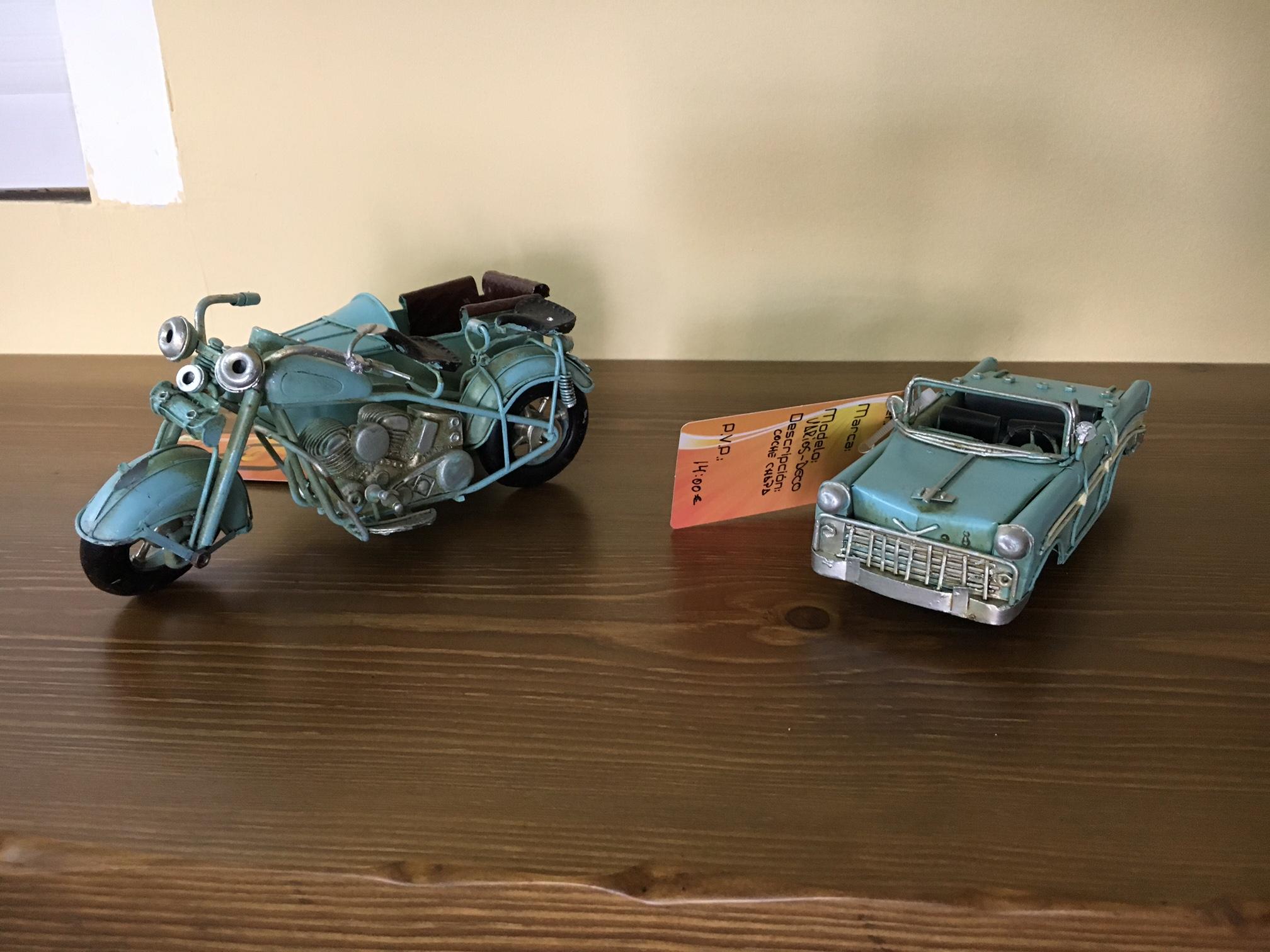 µoto coche miniatura mas que chimeneas granada